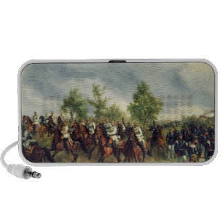 Prussian cavalry on expedition travelling speakers
