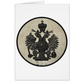 Prussian Eagle Greeting Card