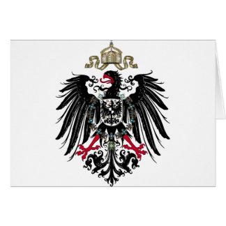 Prussian Eagle Greeting Card