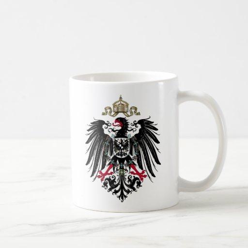 Prussian Eagle Classic White Coffee Mug