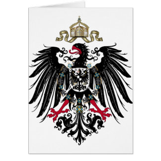 Prussian Eagle Greeting Cards