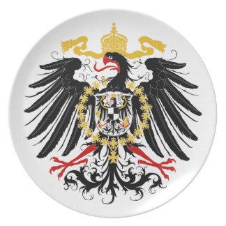 Prussian Eagle Plate