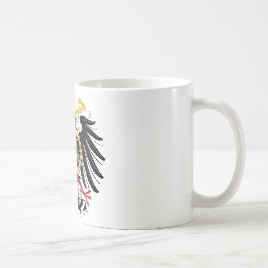 Prussian Eagle Red Black and Gold Coffee Mug
