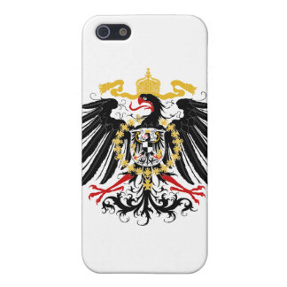 Prussian Eagle Red Black and Gold Cover For iPhone SE/5/5s