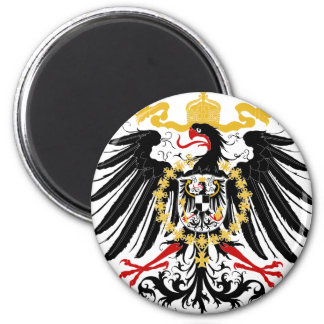 Prussian Eagle Red Black and Gold Magnet