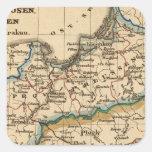 Prussian Empire Square Sticker