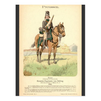 Prussian Hussar Post Cards