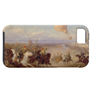 Prussian Hussars firing at a French Observation Ba iPhone SE/5/5s Case
