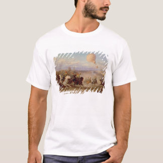 Prussian Hussars firing at a French Observation Ba T-Shirt