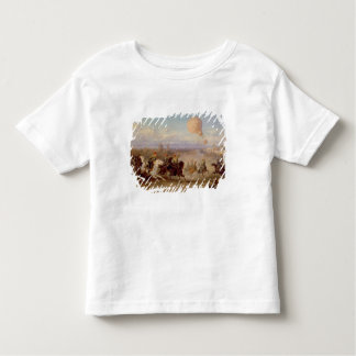 Prussian Hussars firing at a French Observation Ba Toddler T-shirt
