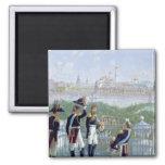 Prussian King Friedrich Wilhelm II 2 Inch Square Magnet