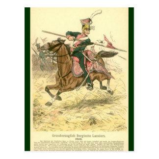 Prussian Lancer Postcard