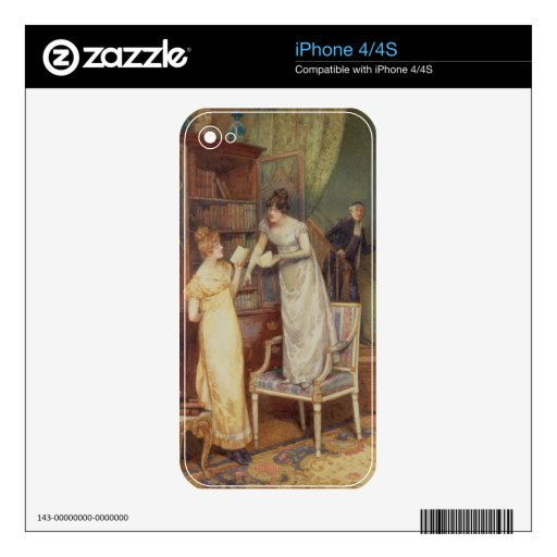 Prying Eyes, 1901 (w/c heightened with white) iPhone 4 Decals