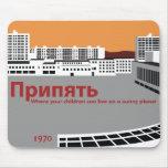 Prypyat Propaganda style Mouse Pad