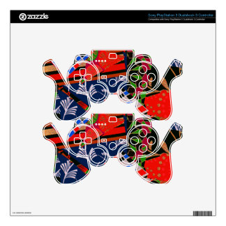 PS3 Controller Skin with Brilliant Collage