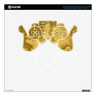 Ps3 Gold Controller PS3 Controller Skin