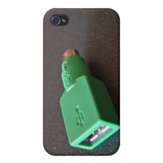 PS/2 motherboard to USB mouse adaptor iPhone 4 Case
