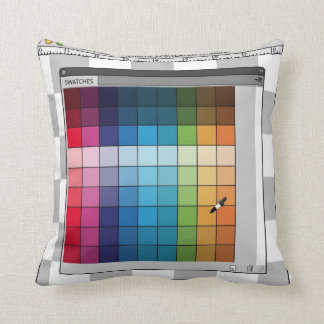 PS color panel pillow
