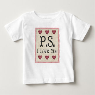PS I love You Country Prims Stamp Baby T-Shirt