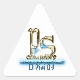 PS Pegatina01 Pegatina Triangular
