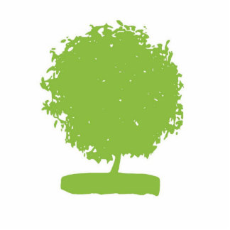 PSA001 Green tree Statuette