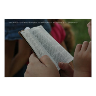 Psalm119: 11 posters