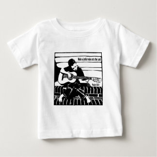Psalm 100:1 baby T-Shirt