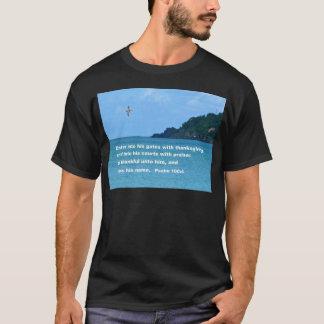 Psalm 100:4 T-Shirt