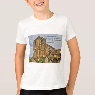 Psalm 100:5 Old Stone Church T-Shirt