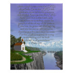 Psalm 100 (Tall Version) Poster