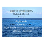Psalm 103:12 postcard