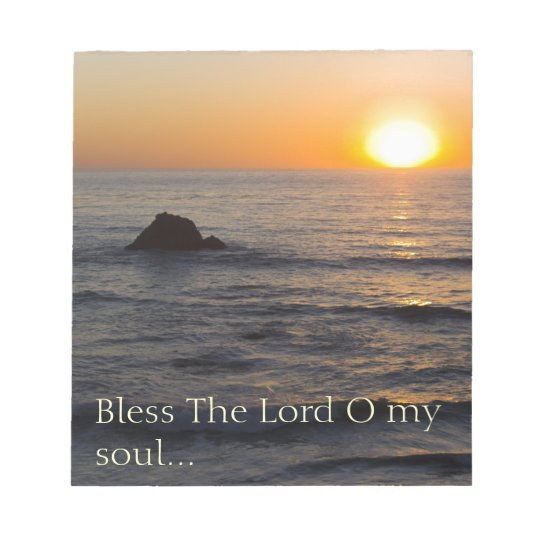 Psalm 103:1 notepad