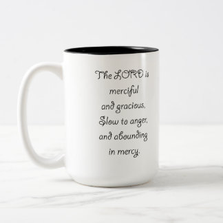 Psalm 103 8 The Lord is  Merciful 1035.01.png Two-Tone Coffee Mug