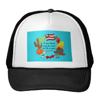 Psalm 107:1 trucker hat
