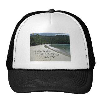 Psalm 107:29  He stilled the storm... Trucker Hat