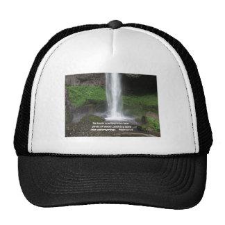 Psalm 107:35 He turns a wilderness into... Trucker Hat