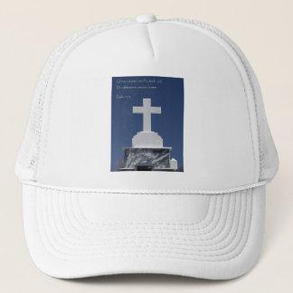 Psalm 111:3 Cross Trucker Hat