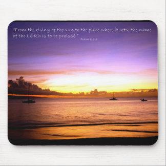 Psalm 113:3 mouse mat
