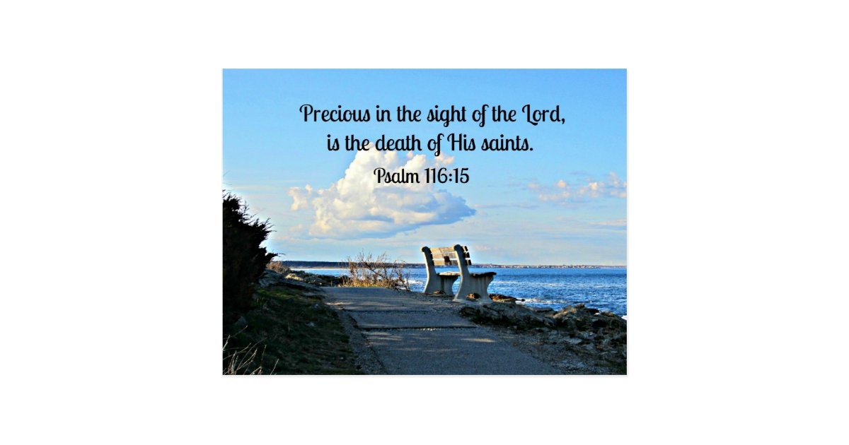 Psalm 116 15 Postcard Zazzle Com