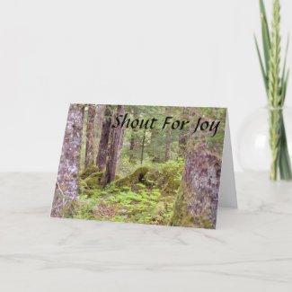 Psalm 118:14-16 Encouragement Card 2 card