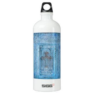 Psalm 118:14 Encouraging Bible Verse Water Bottle