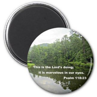 Psalm 118:23 magnet