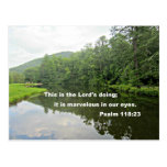 Psalm 118:23 postcards