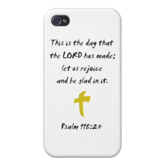 Psalm 118.25 The day the LORD has made iPhone 4/4S Cover