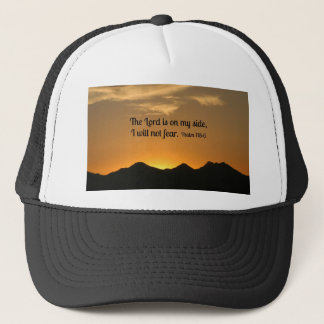 Psalm 118:6 The Lord is on my side... Trucker Hat