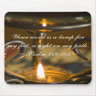 Psalm 119:105 Mousepad