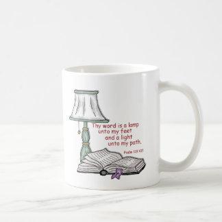 Psalm 119: 105 coffee mug