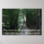 Psalm 119:105 print