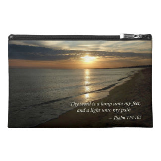 Psalm 119:105 Thy word is a lamp Travel Accessories Bag