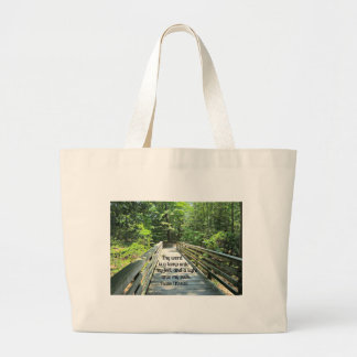 Psalm 119:105 Thy word is a lamp... Canvas Bags